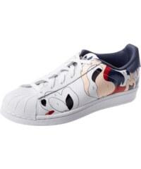 adidas Originals Sneaker aus Leder mit künstlerischem Print