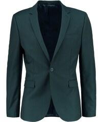 Topman SKINNY FIT Veste de costume dark green
