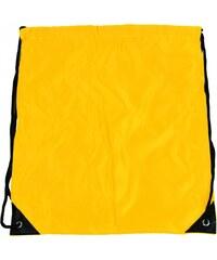 Century Bag Pytlík do tělocviku / na cvičky jednobarevný stahovatelný žlutý 3H02