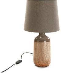 Stolní lampa Versa Gray Ceramic