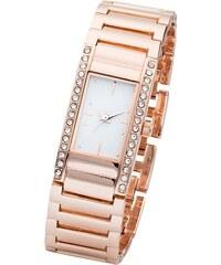 bpc bonprix collection Kovové náramkové hodinky se štrasovými kamínky bonprix