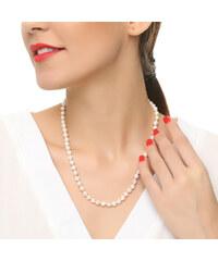 Lesara Süßwasserperlen-Halskette
