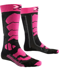 X-Socks Control 2.0 W Skisocken anthracite/fuchsia