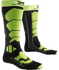 X-Socks Control 2.0 Skisocken anthracite/lime