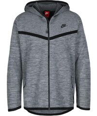 Nike Tech Knit Hooded Zipper grey/black