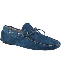 Sparco Magny Kours - Ledermokassins - blau