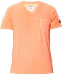 Schott T-Shirt - korallenfarben