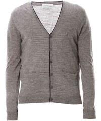Benetton Gilet en laine - gris chine