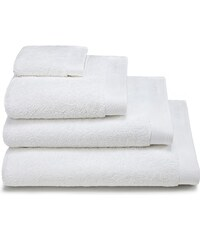 Calvin Klein Home Dolmite - Lot de 4 linges de bain - blanc