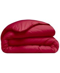 Ifilhome Housse de couette - rouge