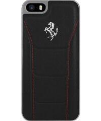 The Kase Coque en cuir pour iPhone 5/5S/SE - noir