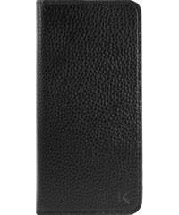 The Kase Housse en cuir pour iPhone 7 - noir