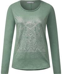 Cecil - T-shirt à imprimé ethnique - loden frost vert
