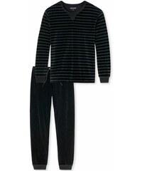 Pyjama Schiesser schwarz 48,50,52,54,56,58