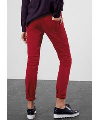 Damen Q/S designed by Slim: Colored Denim mit Stretch Q/S DESIGNED BY rot 36,38,40,42,44