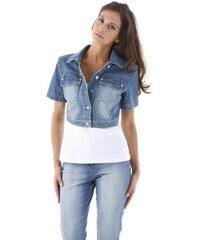 Aniston Damen Jeansjacke blau 34,36,38,40,42,44