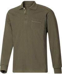 CLASSIC BASICS Classic Basics Poloshirt mit kontrastfarbenen Paspeln im Vorderteil grün 44/46,48/50,52/54,56/58,60/62