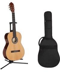 Konzertgitarre, MSA, »Jose Ribera® Konzertgitarrenset 4/4 HG62«