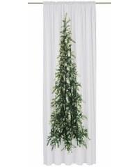 MY HOME Vorhang Tannenbaum (1 Stück) weiß (H/B: 230/140 cm)