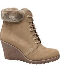 Deichmann - Graceland Šněrovací obuv na klínku