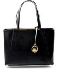 Elegantní černá kabelka Limet David Jones 14023
