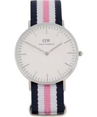 Růžovo-modré dámské hodinky CLASSIC Southhampton Daniel Wellington