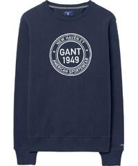 GANT Sweat-shirt Ras Du Cou 1949 - Marine
