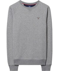 GANT Sweat-shirt Ras Du Cou - Grey Melange