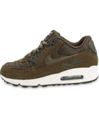 Nike Baskets/Running Air Max 90 Premium Olive Femme