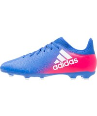 adidas Performance X 16.3 FG Chaussures de foot à crampons blue/white/shock pink