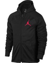 Jordan 360 Hooded Zipper black/red