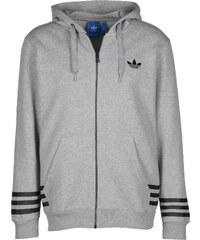 adidas Street Grp Hooded Zipper medium grey hthr