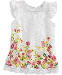 Guess Kids šaty Floral Lace