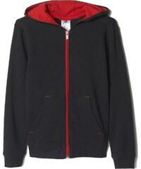 Dětská mikina adidas Youth Fanwear Fz Hoody černá