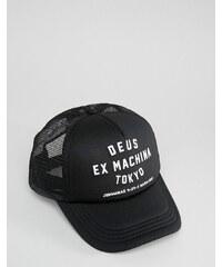Deus Ex Machina - Tokyo - Trucker-Kappe - Schwarz