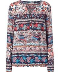 Christian Berg Woman Blusenshirt mit ornamentalem Muster