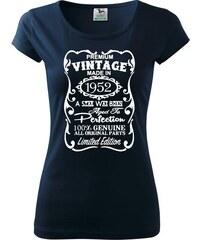 6b996015de1 Myshirt.cz Vintage Etiketa - 1956 - Pure dámské triko