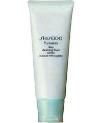 Shiseido PURENESS Deep Cleansing Foam 100ml Čisticí krém Tester W Problematická a mastná pleť