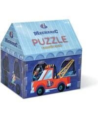 Crocodile Creek Malý mechanik puzzle autodílna