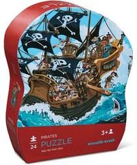 Crocodile Creek Mini puzzle II - piráti