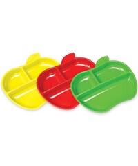 Munchkin Set barevných dělených talířů 3ks