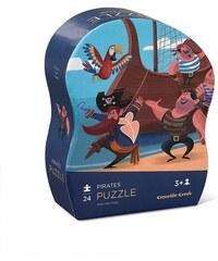 Crocodile Creek Mini puzzle - piráti