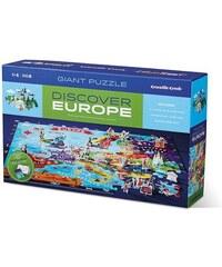 Crocodile Creek Poznávací puzzle - Evropa
