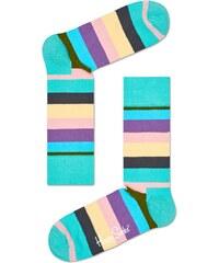 Ponožky Happy Socks Stripe Gray, Green, Pink, Purple, Turquoise, Yellow