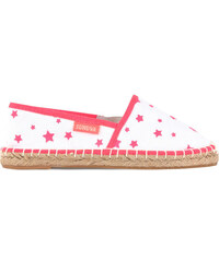 Sunuva Star-printed cloth rope-soled sandals