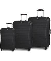 IT Luggage Sada cestovních kufrů 135L/87L/38L TR-1036/3 ABS černá