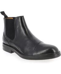 Boots Homme Christian Pellet en Cuir Noir