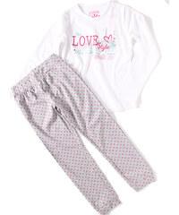 Losan Dívčí bavlněné pyžamo 'Love Style'