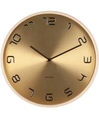 Karlsson Designové nástěnné hodiny 5611GD Karlsson 35cm