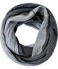 Cecil Weicher Rippstruktur Loop - dark silver, Herren